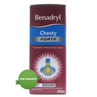 Buy benadryl liquid chesty forte 200ml -